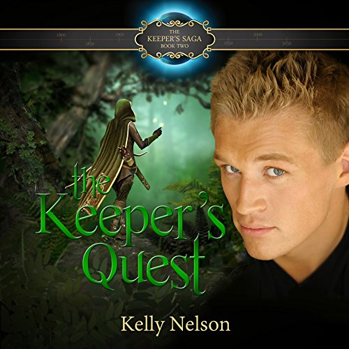 Keeper's Quest audiobook cover art