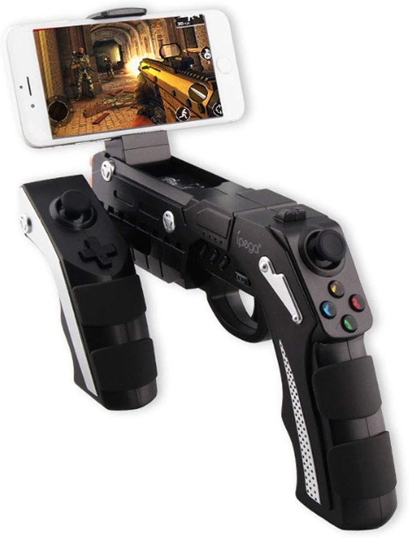 tomar hasta un 70% de descuento AXDNH Juegopad Pistola, Controlador de Juegos de Video Video Video de 360 Grados Teléfono móvil Controlador de Juegos inalámbrico azultooth para iOS y Android  lo último