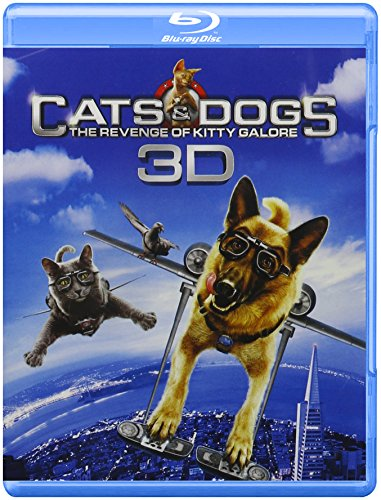 Cats & Dogs: The Revenge of Kitty Galore (Blu-ray 3D/Blu-ray/DVD/Digital Copy) $6.50 + Free Shipping