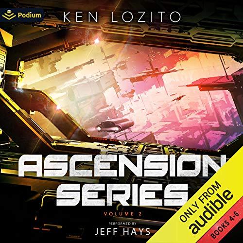 Ascension Series: Volume II: Ascension, Books 4-6