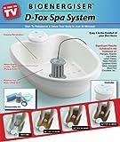 Bioenergiser Detox Spa bain d'électrolyse des pieds, édition Classique