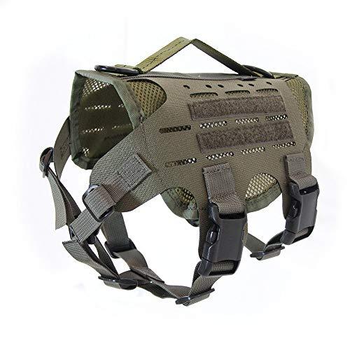 【Kiloniner】ハーネス 小型犬 中型犬 ペット 迷彩 犬 猫 子犬 子猫 ミリタリー Made in U.S.A. M4 Tactica...