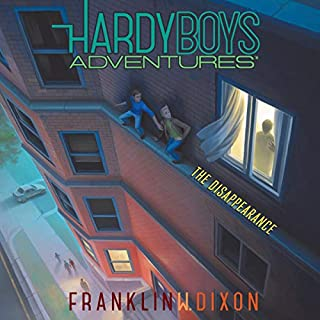 The Disappearance     Hardy Boys Adventures, Book 18              Written by:                                                                                                                                 Franklin W. Dixon                               Narrated by:                                                                                                                                 Tim Gregory                      Length: 3 hrs and 50 mins     Not rated yet     Overall 0.0