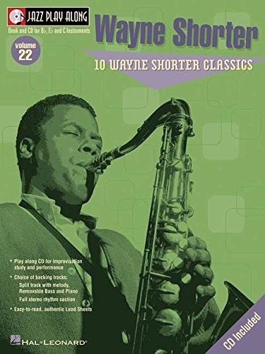 Jazz Play-Along Vol.022 Wayne Shorter + Cd