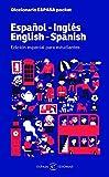Diccionario ESPASA pocket. Español - Inglés. English - Spanish: Edición especial para estudiantes (IDIOMAS)