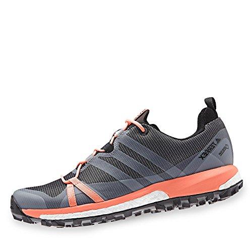 adidas Damen Terrex Agravic GTX Trekking- & Wanderhalbschuhe, Grau (Gritre/Ftwbla/Cortiz 000), 42 EU
