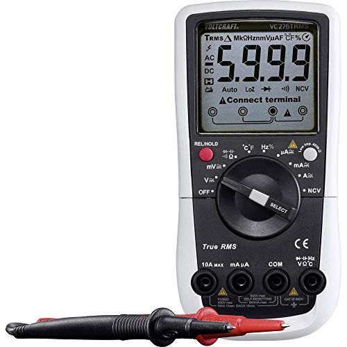Voltcraft VC276 Hand-Multimeter digital CAT III 600V Anzeige (Counts): 6000