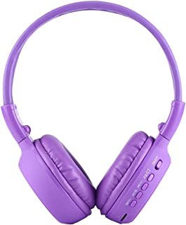 SHUHAN Electronics Digital Media Players BS-N65 Headband Folding Stereo HiFi Wireless Headphone Headset with LCD Screen & ...