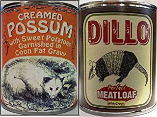Creamed Possum in Coon Fat Gravy & Dillo the Perfect Meatloaf
