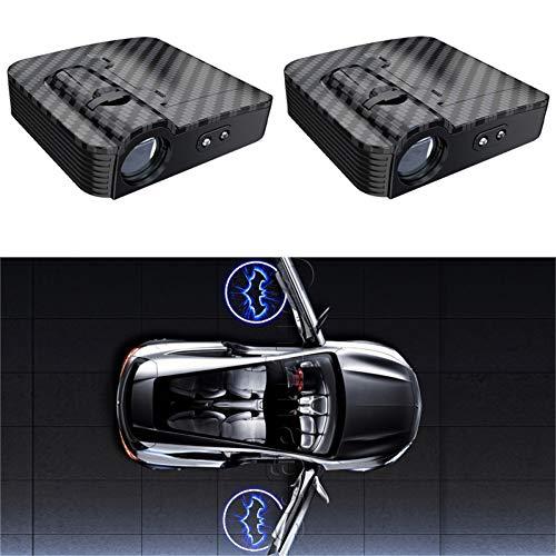 1 stks autodeur draadloze welkom lamp universele projectielamp draadloze spot infrarood sensor licht voor auto Alle modellen
