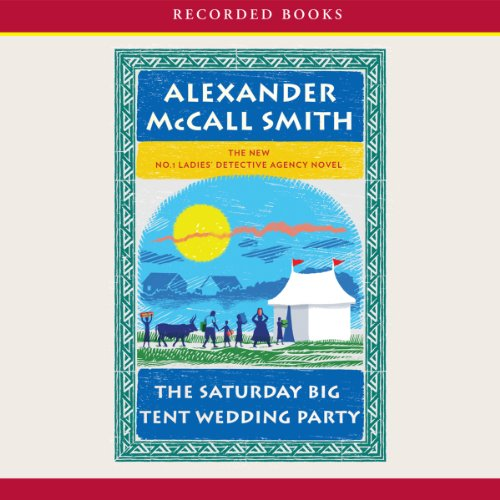 The Saturday Big Tent Wedding Party audiobook cover art
