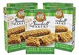 Sunbelt Bakery Oats & Honey Chewy Granola Bars, 5 Boxes, No Preservatives (50 Bars)