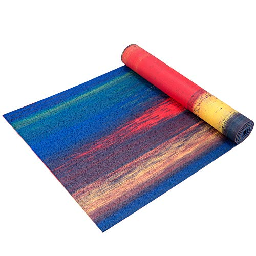 TOPLUS Yoga Mat - Premium 1/4 inch Imprint Non Slip Extra Thick Fitness & Exercise Mat with Carrying Strap, Workout Mat for All Types of Yoga, Pilates and Floor Exercises