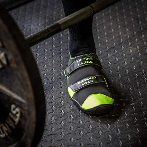 LiftingLarge Ground Lock Deadlift Slippers Powerlifting Competition...