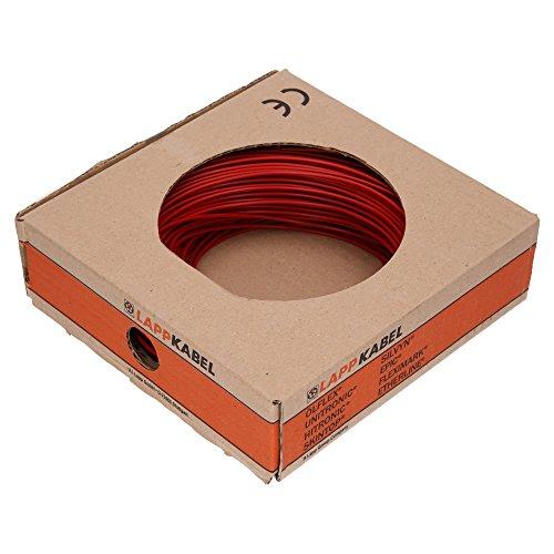 Lapp 4510042 H05V-K 1X0,75 rot PVC-Aderleitung