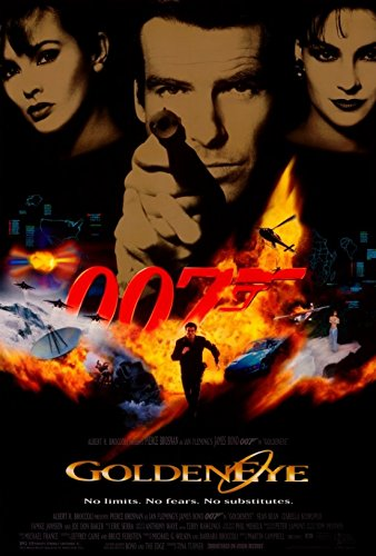 GoldenEye Movie Poster (68,58 x 101,60 cm)