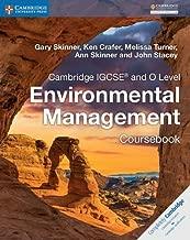 Cambridge igcse® و O مستوى للبيئة إدارة coursebook (Cambridge International igcse)