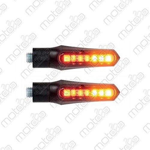 Lightech Flechas Delanteros Dual-Mod. Una Posición Intermitente Led Homologados