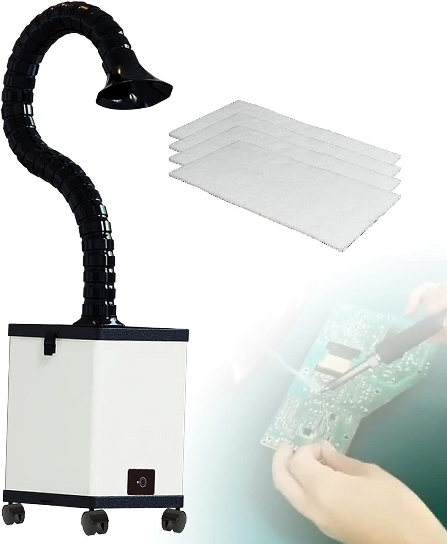 Extractor de Humos de Soldadura, Filtro de Humos con Capucha para Fumar para Estación de Soldadura DIY e Planchar