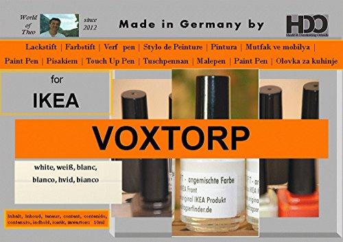 Pastello colorato penna di vernice Touch Up per la Pen for IKEA voxtorp White