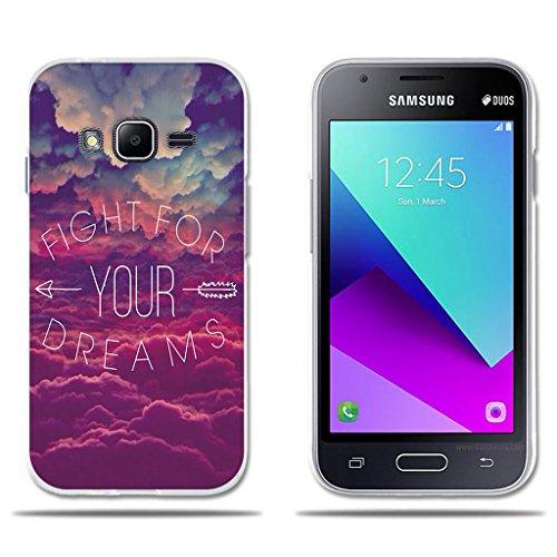 fubaoda Funda Carcasa para Samsung Galaxy J1 Mini Prime, Dibujo de Cielo Ensue?o, Carcasa Protectora de Goma de Altisima Calidad para Samsung Galaxy J1 Mini Prime (4.0')