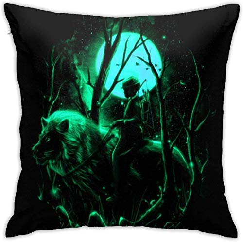 AOOEDM Cool Yu Yu Hakusho Decorative Throw Pillow Covers for Sofa Couch Cushion Pillow Cases 18x18 Inch,3