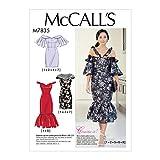 McCall's Patterns M7835 Mcc Misses Dress Pattern E5 (Sizes 14-22) Multi