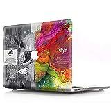AJYX Funda Dura para MacBook Air 11 Pulgadas (A1370 / A1465), Carcasa Rígida Hard Shell Protector de Plástico Cubierta, CY6 Cerebro tecnologico