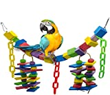 Acidea Parrot Toy, Brings Out Your Bird's Wild Side, Challenges and Stimulates Your Genius Pet, Fun Play Also Trims Beak