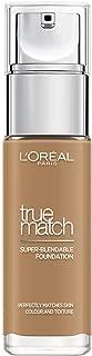 L'Oreal Paris True Match Liquid Face Foundation - 1.01 oz., 8D8W Golden Cappuccino