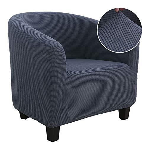 Heflashor Sesselschoner Sesselüberwurf Sesselhusse Sesselbezug Weihnachten Elastisch Stretch Sofahusse für Cafe Stuhl Sessel