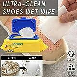 Zapatillas impermeables desechables ultralimpias que limpian toallitas húmedas para zapatos blancos, artefacto portátil de viaje, descontaminación, mantenimiento