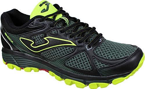 Joma Shock Men 933 Verde - Zapatillas Trail-Runing Hombre (41 EU, Verde)