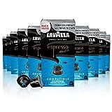 Lavazza Espresso Maestro Dek, Arábica y Robusta, Torrefacto Medio, Cápsulas de Aluminio Compatibles con las Máquinas Nespresso Original, Formato de 100 Cápsulas