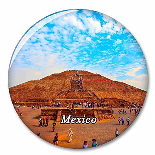 México Imán de Nevera, imánes Decorativo, abridor de Botellas, Ciudad turística, Viaje, colección de Recuerdos, Regalo, Pegatina Fuerte para Nevera