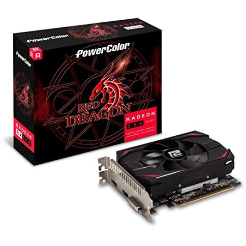 Placa de video power color radeon rx 550 2gb ddr5 - axrx 550 2gb64bd5-dh, Powercolor