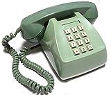 電電公社 600-P プッシュ式電話機 (プッシュホン) (ライトグリーン)