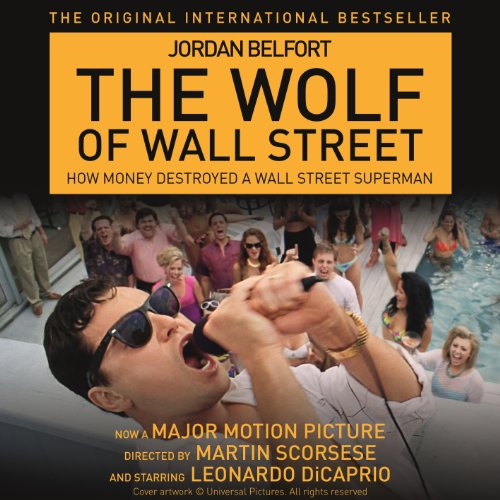 The Wolf of Wall Street audiobook cover art