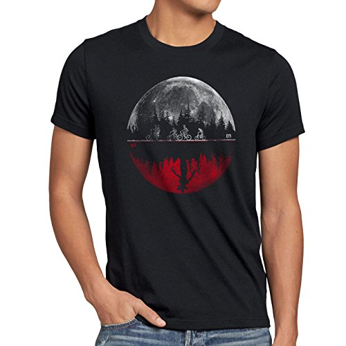 style3 Upside Down 011 Herren T-Shirt, Größe:M