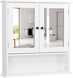 Best bathroom storage cabinets wall mount Reviews