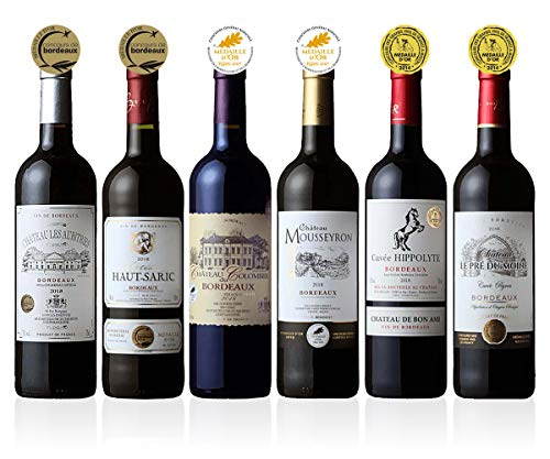 【すべて金賞受賞】フランス3大ワインコンクール金賞受賞ワイン6本セット ワインセット 赤ワイン 飲み比べセット