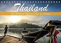 Thailand - Eine Bilderreise durch das Land des Laechelns (Tischkalender 2022 DIN A5 quer): Traumhafte Aufnahmen aus dem Land des Laechelns (Monatskalender, 14 Seiten )