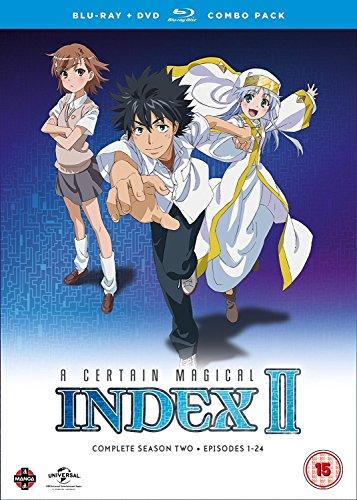 A Certain Magical Index Complete S2 [Edizione: Regno Unito] [Blu-Ray] [Import]