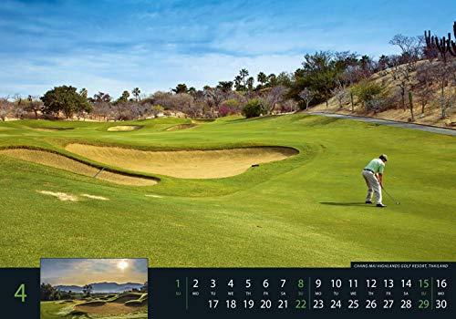 Golf 2018 – Sportkalender / Golfkalender international (49 x 34) - 8