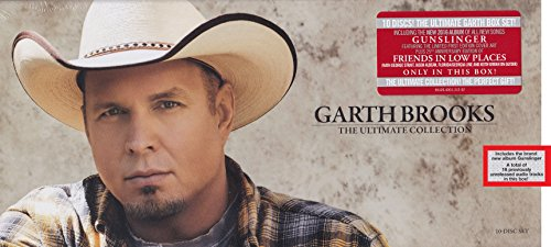 Price comparison product image Garth Brooks - The Ultimate Collection Exclusive 10 Discs Box Set
