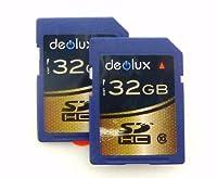 Trade Twin Pack 2 x 32GB Memory Card class 10 SD SDHC Class 10 Memory Card class 10 FOR Panasonic Lumix DMC-GH2 Digital Camera SD Secure Digital Card [並行輸入品]
