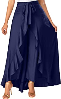 b957e154727 Skirts for Women s Plus Size Solid Flare Hem High Waist Midi Skirt Sexy  Uniform Pleated Skirt