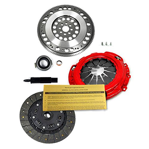 EFT PREMIUM 2 CLUTCH KIT+ RACING FLYWHEEL for ACURA RSX HONDA CIVIC Si 2.0L 2.4L