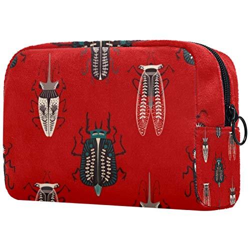 Personalisierte Make-up-Bürstentasche, tragbare Kulturtasche für Frauen, Handtasche,...