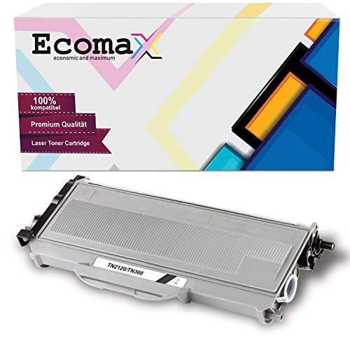 Ecomax toner compatibel met Brother TN-2120 voor Brother DCP-7030 7040 7045N HL-2140 2150N 2170W MFC-7320 7340 7345DN 7440 7840WN